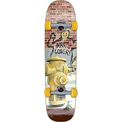 World Industries Born Loser Complete Skateboard Cruiser - 8