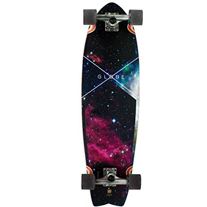 Globe Chromatic Cruiser Galaxy Complete Longboard Skateboard 9.7 x 33-Inch