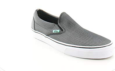 Vans Men's Classic Slip On (Suede & Suiting) Skateboarding Shoes