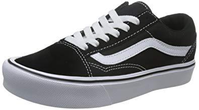 Vans Unisex Old Skool Lite (Suede/Canvas) Skate Shoe