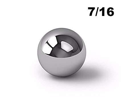 7/16 Inch Carbon Steel Ball Bearings G500-100000 Bearings