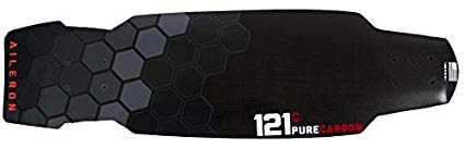 121C Boards Aileron Carbon Fiber Skate Cruiser Board - Standard Flex Deck Only