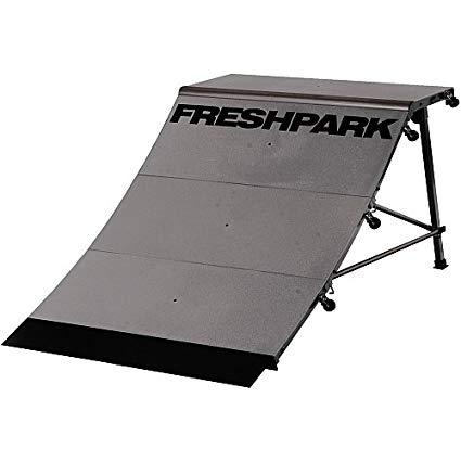 FreshPark Professional BMX and Skateboarding Quarter Pipe