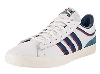 adidas x Alltimers Campus Vulc (White/Core Blue/Scarlet) Men's Skate Shoes