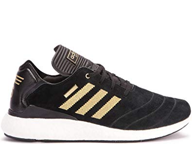 adidas Busentiz Pure Boost 10 Year Shoes Black Gold White - 9.5