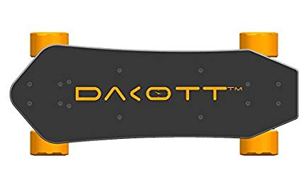 Dakott 1200W 20 MPH Electric Skateboard, Black