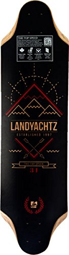 Landyachtz Top Speed 34 Longboard Deck - 9.35x34.5