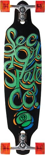 Sector 9 Fraction Complete Skateboard, Green, 9.0-Inch x 36.0-Inch