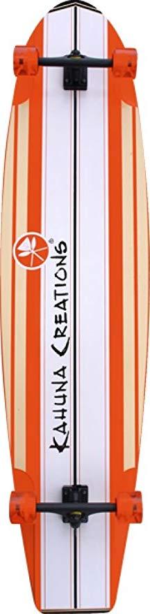 Kahuna Creations Bombora Coral Orange Complete Longboard - 14